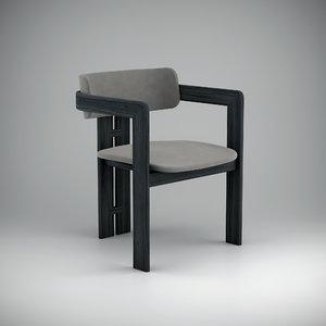 3d 0414 gallotti radice armchair