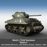 M4A3 75mm - Sherman - Barfly