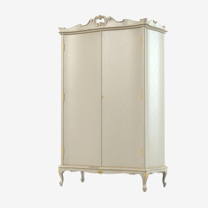 3d model cortezari tiffani armoire