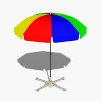 3d outdoor umbrella