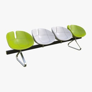 fjord bench sistema chairs 3d max