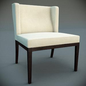 kinkou chair 3d model