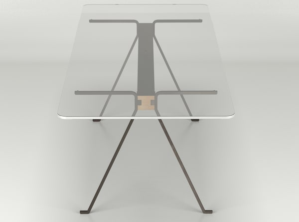 3d frate table enzo mari