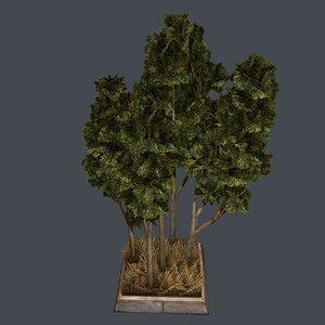 tree gen 3d obj