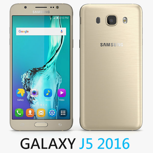 3d model samsung galaxy j5 2016