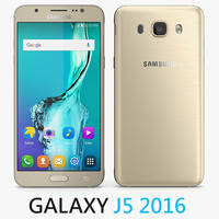 3d model samsung galaxy j5 2016