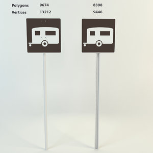 3d camping trailer signs