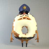 Donut sheriff Food creatures series