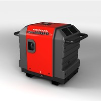 honda portable generator 3d 3ds