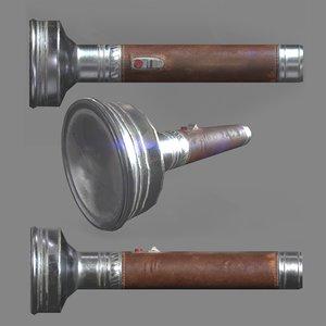 ready flashlight 3d fbx