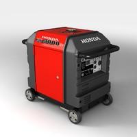 3d honda portable generator model