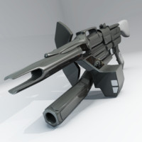 science fiction rifle pulse 3d 3ds