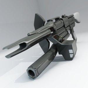 science fiction rifle pulse 3d 3ds