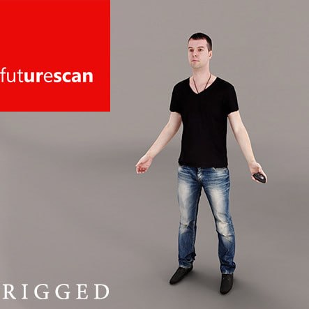 free scans 3 3d model