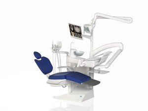 3d stern weber s280 dental chair model