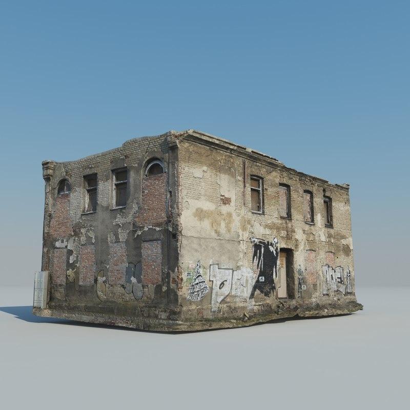 scan house 3d model
