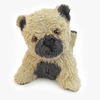 baby teddy bear 3d c4d