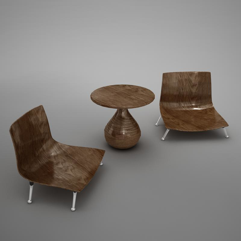 table chairs max