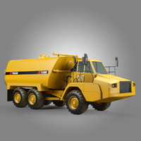 articulated water tanker max