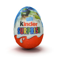 3d model kinder egg