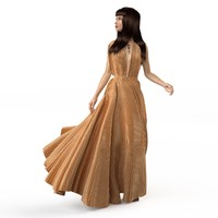3d summer dresses model