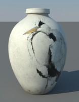 ancient vase 3d ma
