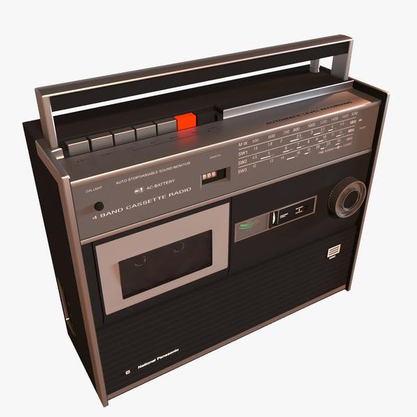 old radio 3d 3ds