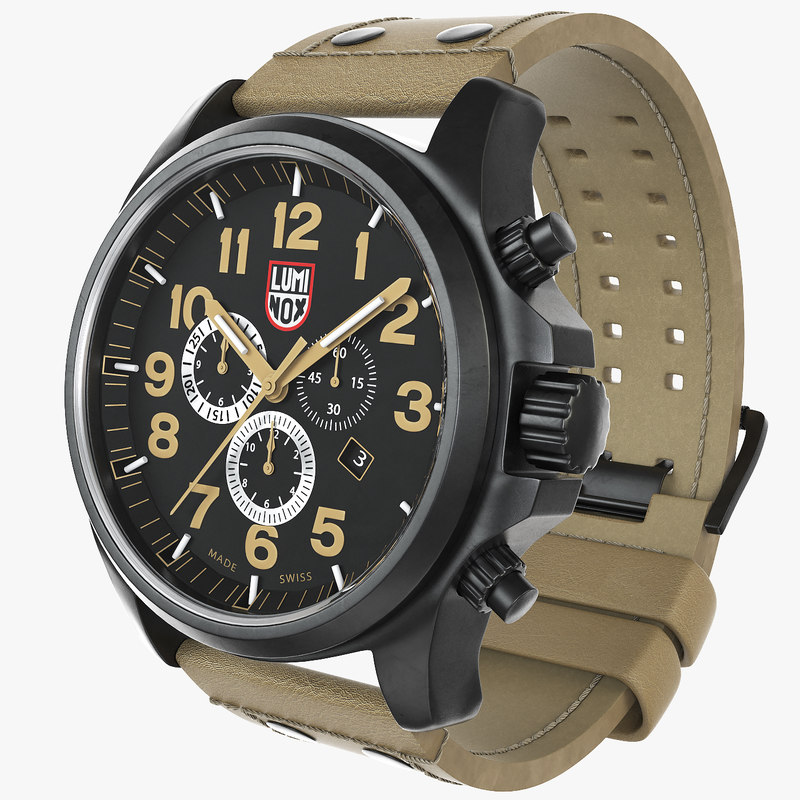 military watch luminox 1945 3d max