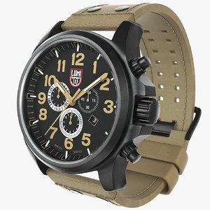 military watch luminox 1945 3d max