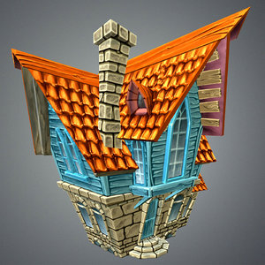 3d funny house games