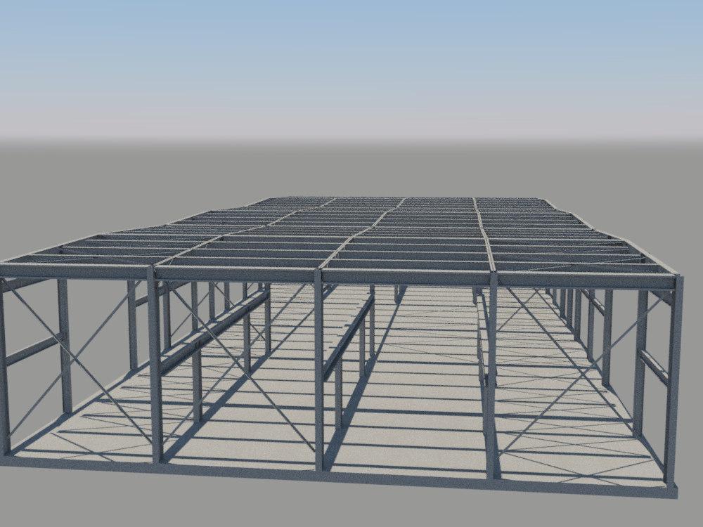 3d columns frames