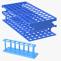 test tube racks obj
