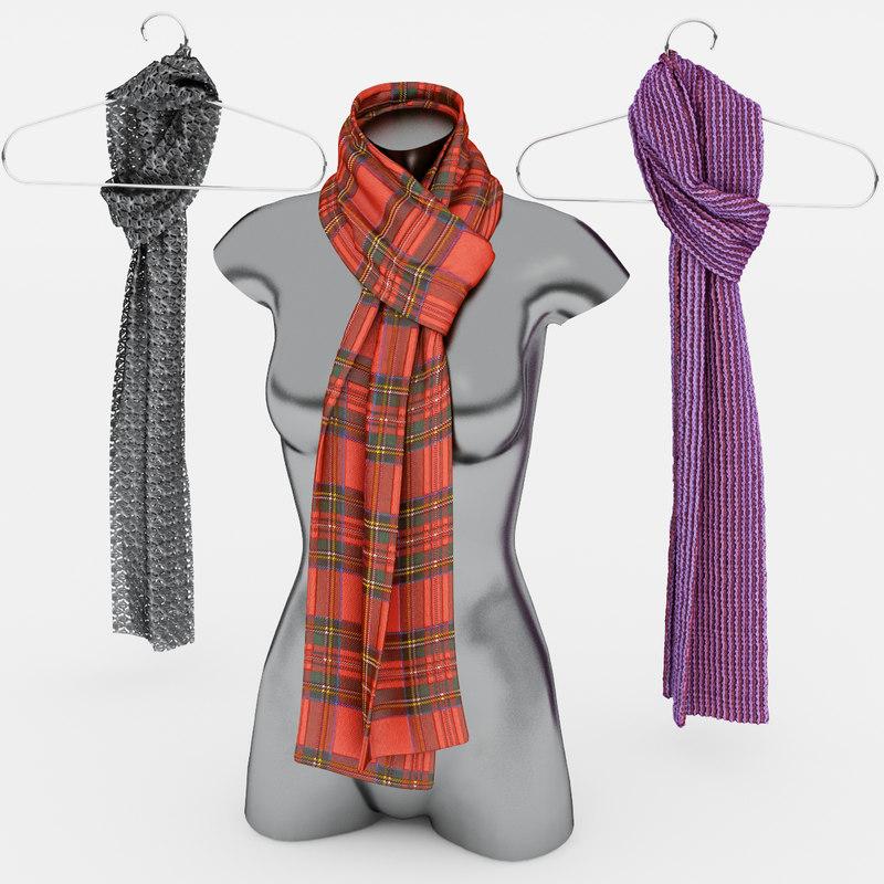 max set scarves
