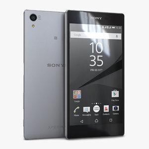 3d sony xperia z5 premium