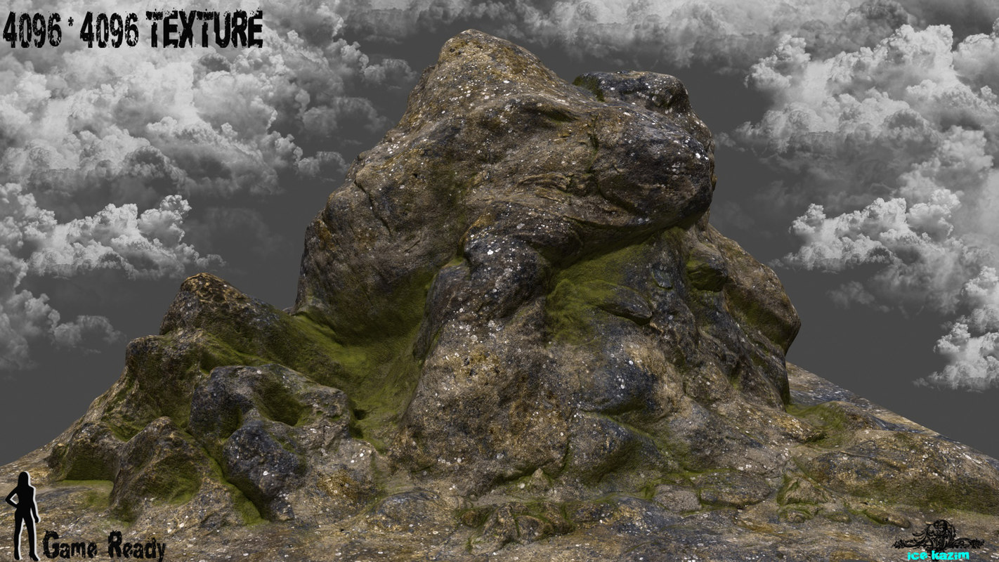 mountain 1 3d obj