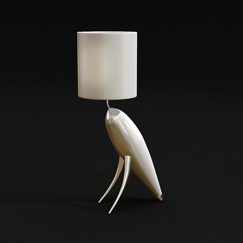 carlesso airo t floor lamp obj