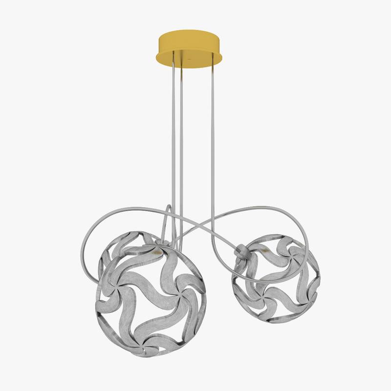 3d model lamp lampara