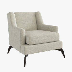 3d enzo occasional chairs model