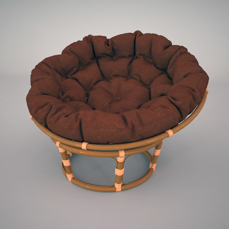 3d papasan chair furniture