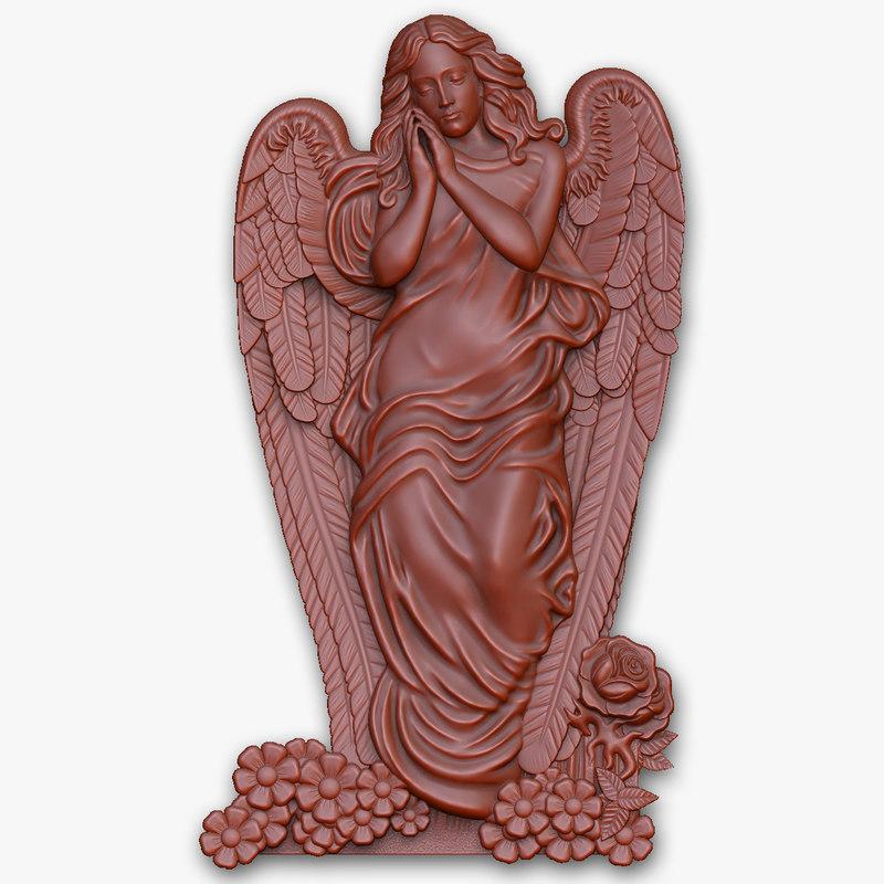 angel cnc 3d model