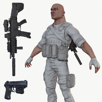 ready soldier lods 3d max