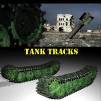 3d animate track wheel