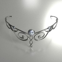circlet elven 3d 3ds