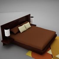 3d bed 4 model