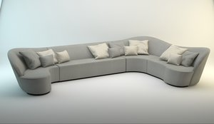 3d model don ignacio sofa
