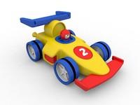Cartoon Formula 1 Car