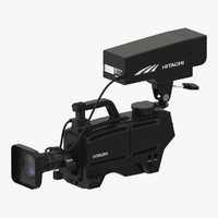 tv studio camera hitachi 3ds