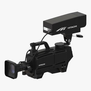 tv studio camera hitachi 3ds