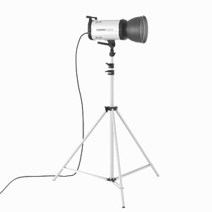 3d model studio flash light fomex