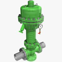 3d control valve 2 model